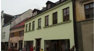 Obnova fasády domu